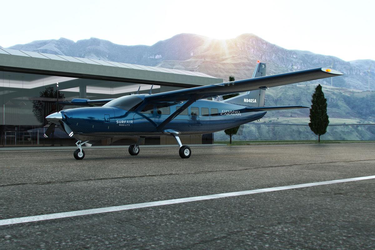 Electric Air Travel