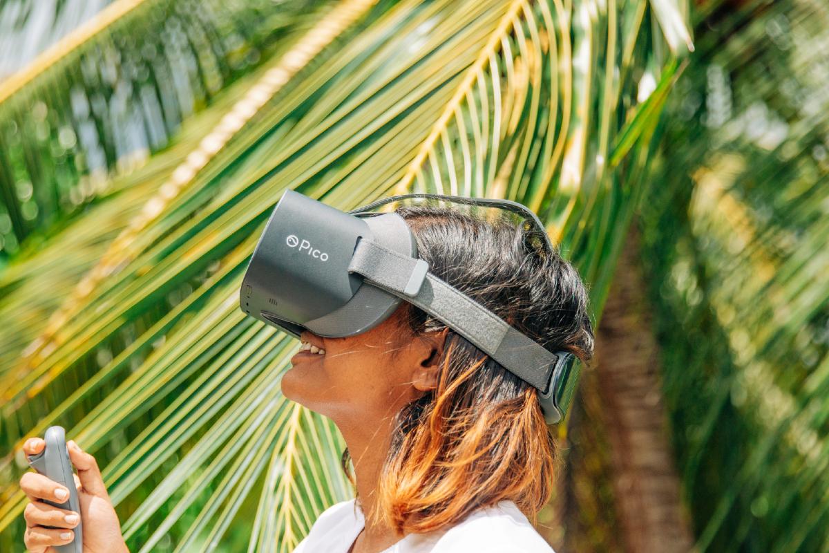 Maldives virtual reality
