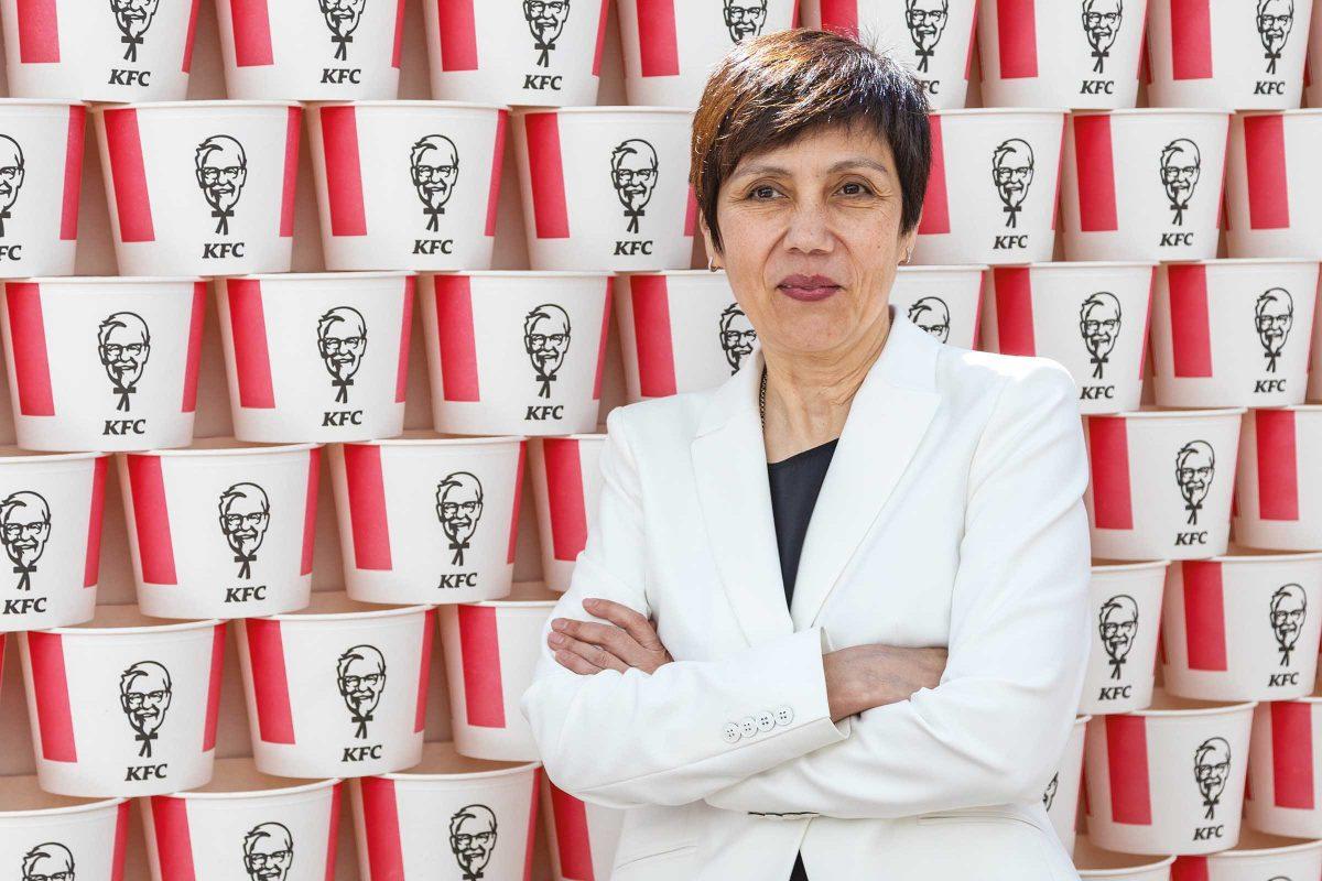 Raisa Polyakova, General Manager of KFC Russia and CIS