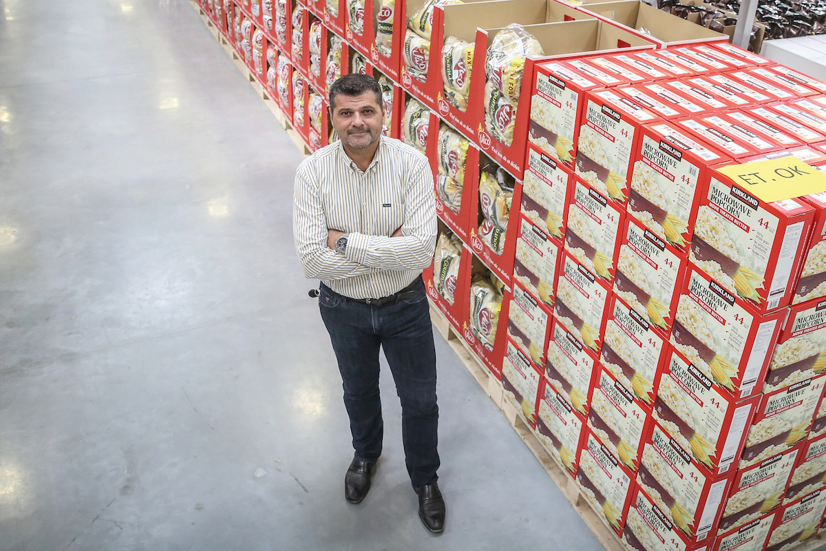 Gary Swindells, President of Costco Wholesale France
