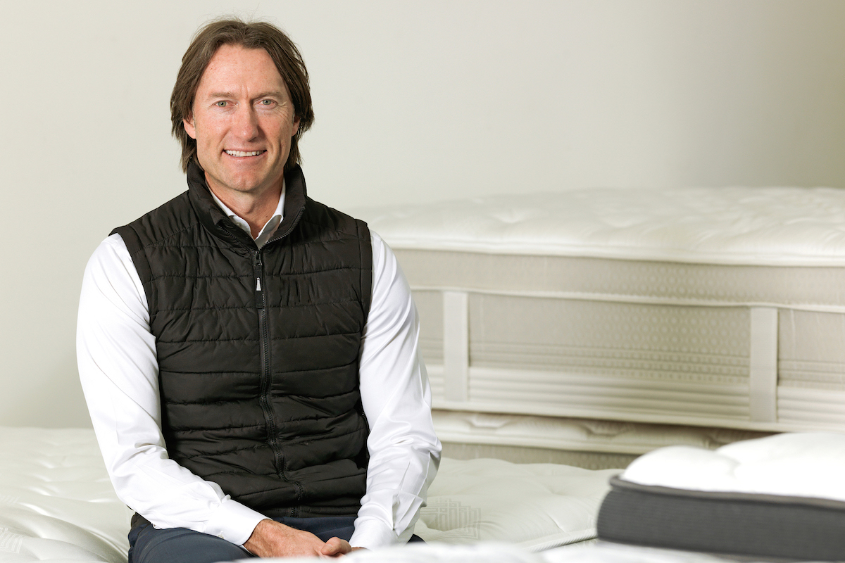Peter Mullin, CEO of The Comfort Group