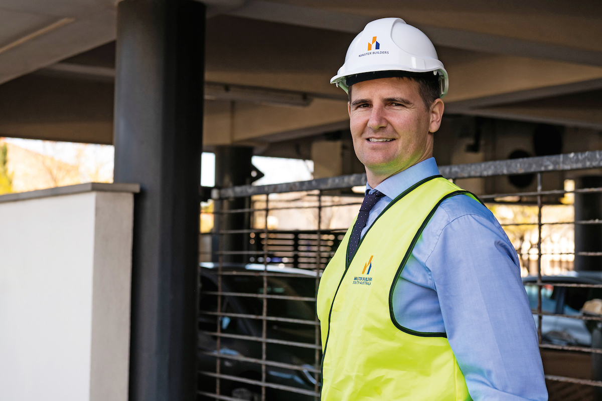 Will Frogley, CEO of Master Builders SA